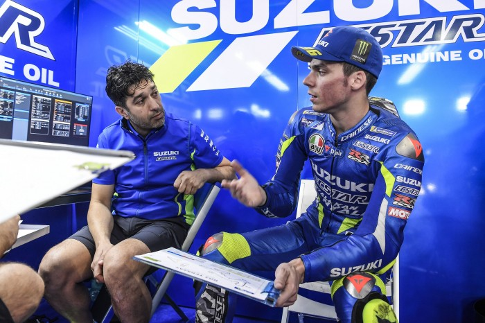 Carchedi moved from the Aspar team to steer Mir in the right direction