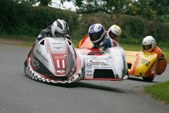 Dunlop in action with Sayle at the weekend