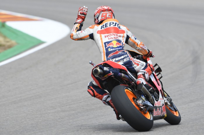 Motogp Sachsenring Marquez To Play It Safe With Old Chassis Bikesport News