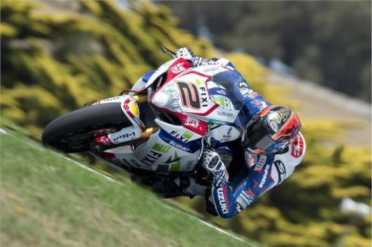 Camier at the top of Phillip Island's Lukey Heights
