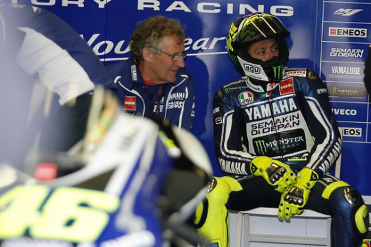 Rossi thinks the Hondas will take the one-two on Sunday