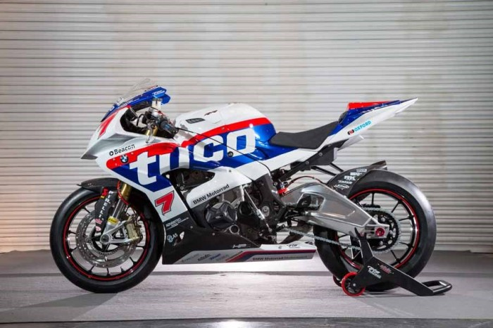Wraps come off the 2015 BSB Tyco BMW S1000RR - Bikesport News
