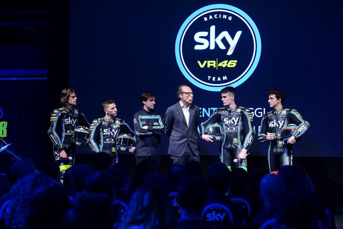 SKY and VR46: changing the sponsorship game in racing - Bikesport News