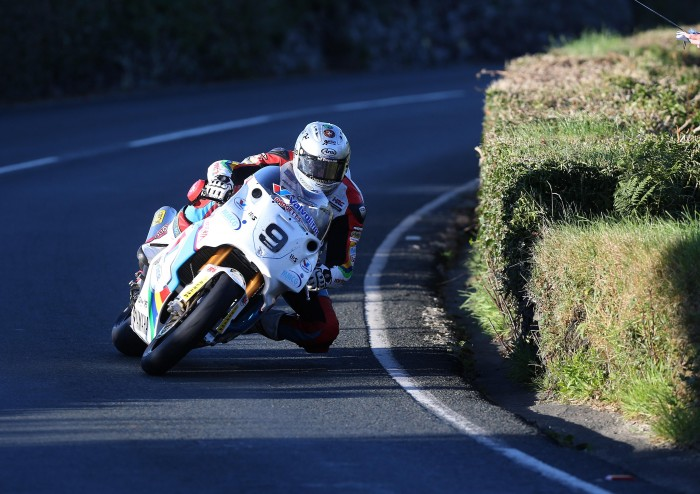 Kneen on the way to the Gooseneck yesterday