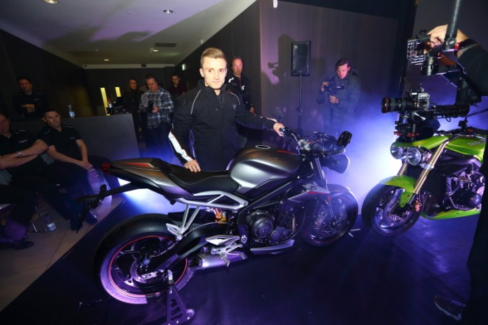 Luke Stapleford brought the RS into the launch gig