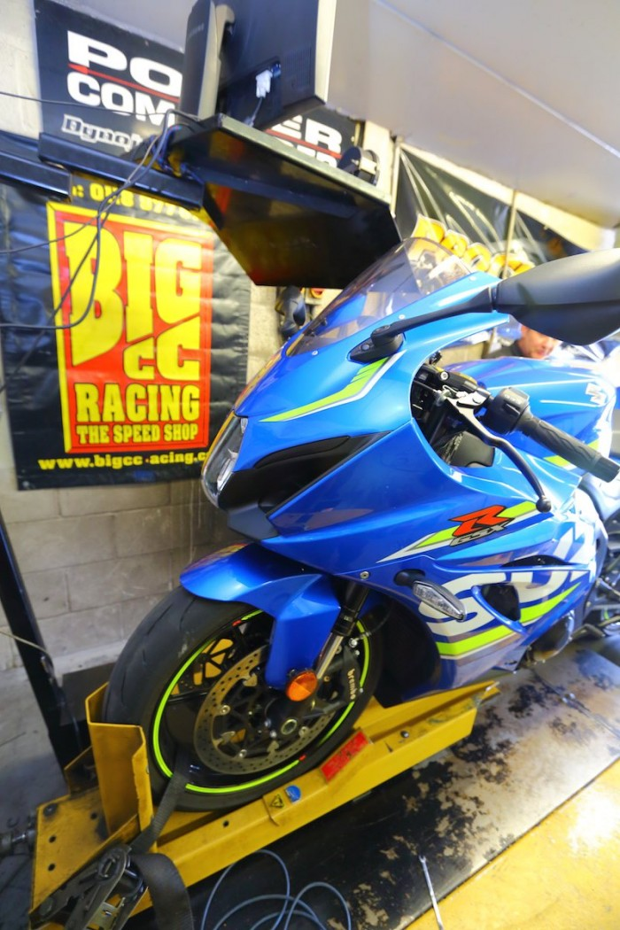 The Gixxer done good on the Big CC dyno...