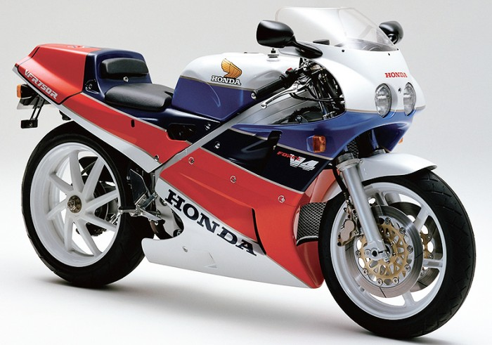Honda's iconic RC30. Probably the most successful racebike of all time
