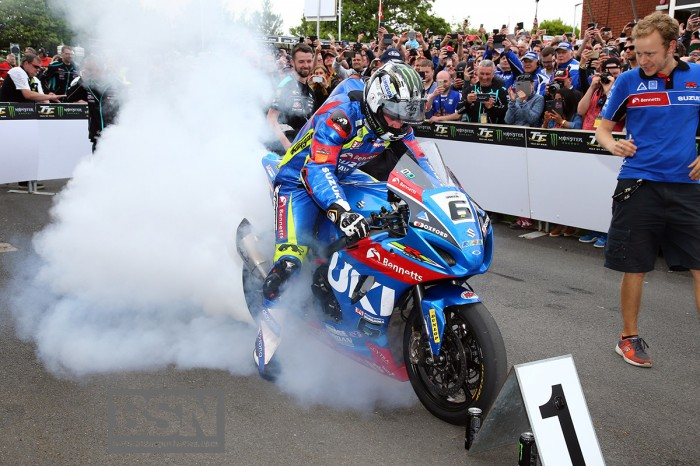 Hutchinson treated for leg injuries after Senior TT crash