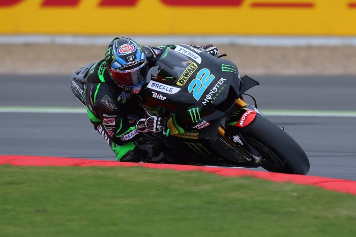 Lowes is only 2.4s off the pace on his first day of MotoGP