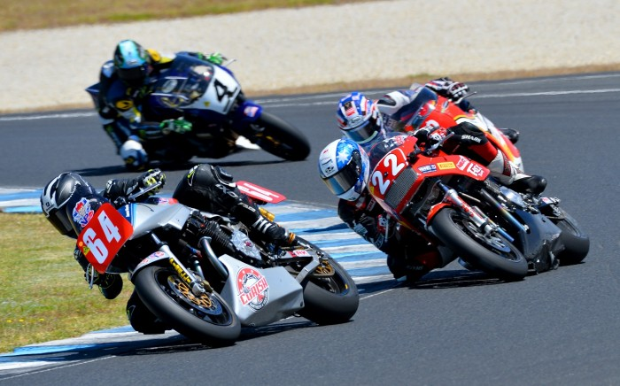 Morris leads Metcher in race one