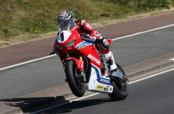 John McGuinness suffers multiple broken bones in North West 200 crash