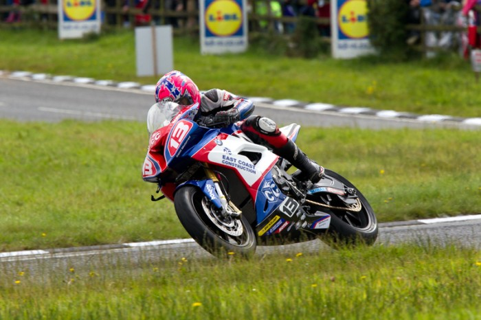 The Superstock win is Johnston's first at the Ulster