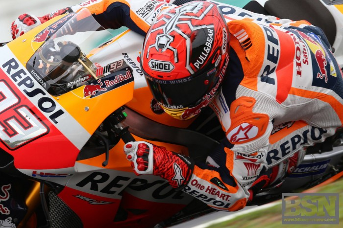Resurgent Marquez fastest on new Catalan track