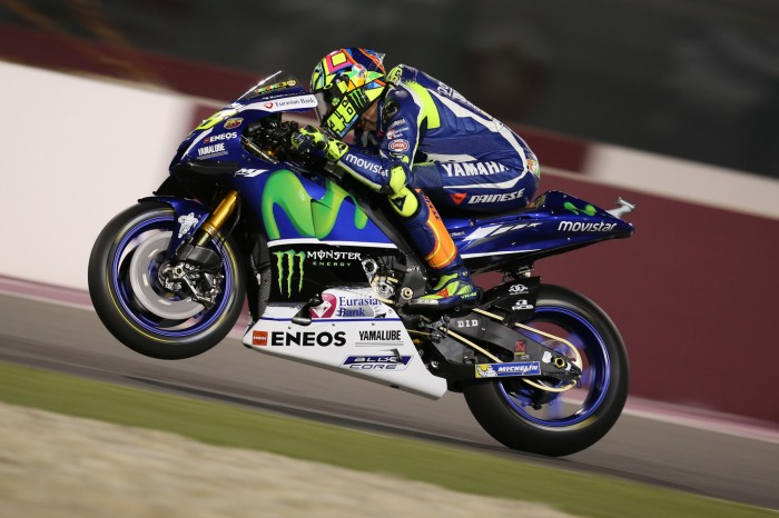 Motogp Qatar Rossi Signs Two Year Extension To Yamaha Deal