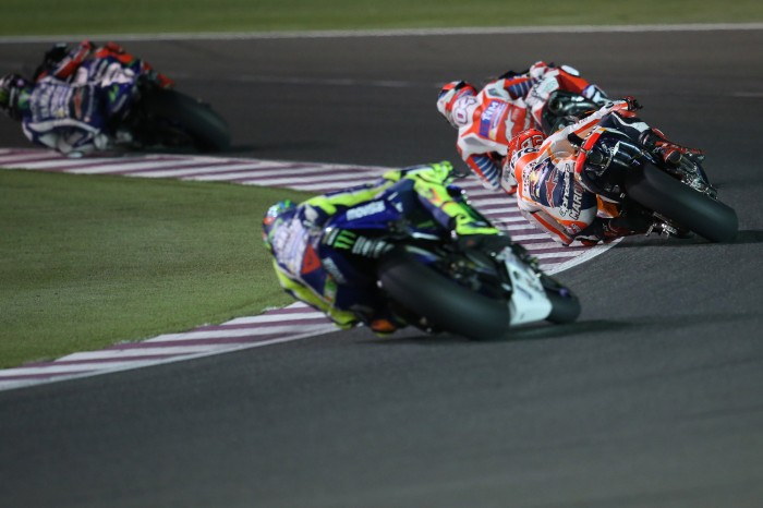 Marquez went back to his old ways and just fought with the RCV