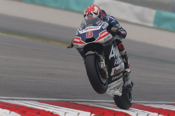 Barbera will start from the back of the grid today