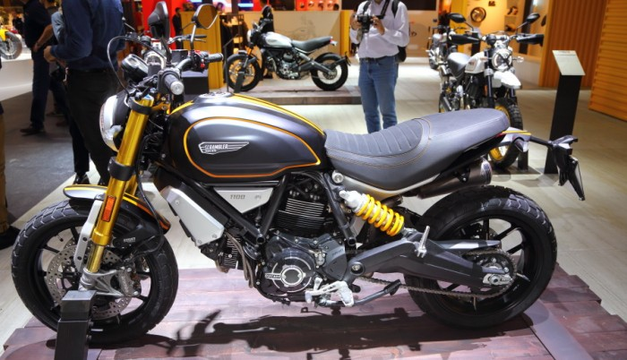2018 ducati 1100 scrambler range bikesport news. Black Bedroom Furniture Sets. Home Design Ideas