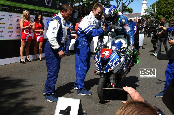 Hutchinson wins IoM TT Quantum Superstock race