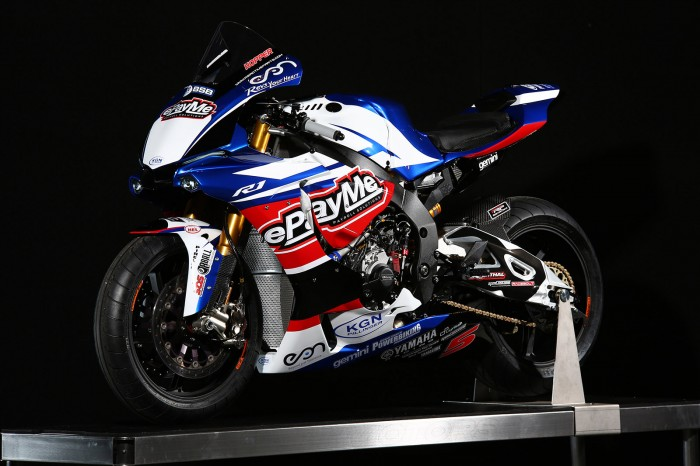 Hill unveils British Superbike team colours at Motorcycle Live