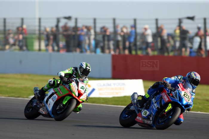 Ray hauled himself up to tenth in race two