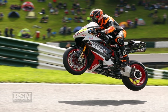 Cadwell BSB: Rea bags first points for MV Agusta squad