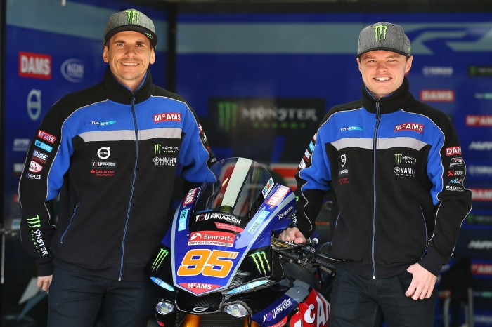 Mackenzie and O'Halloran to remain with McAMS Yamaha for BSB 2020