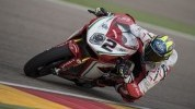 Leon Camier had another tough Friday at Aragon