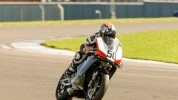 Connor Tagg took three wins at Thundersport Donington