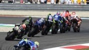 Crutchlow, unlike Marquez, could get any fresh air over his front Michelin