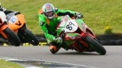 David Jones in No Limits action at Anglesey