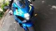 Funny headlight is growing on us. Blue MotoGP rep paint is superb.