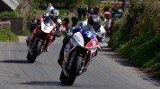 Guy Martin had the better of Michael Dunlop in both Superbike outings