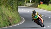 Hodson on his way to his first Manx win