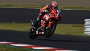 Brookes in action during qualifying at Suzuka
