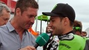 Ex-racer James Haydon fronts the ITV coverage