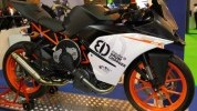 KTM RC390 test mule shows off radical new supercharging tech