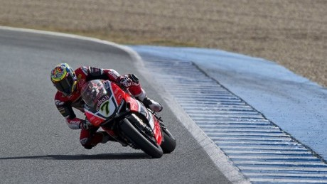 Davies was unstoppable at Jerez last time out