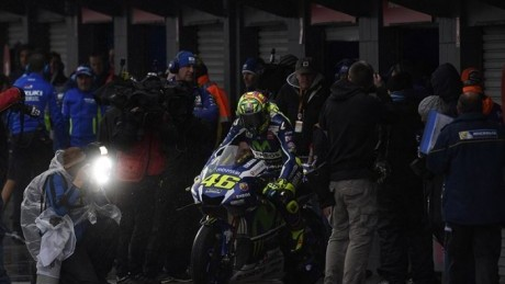 Rossi is worried he hasn't yet seen the 2017 M1
