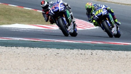 The thinly-papered cracks in Rossi and Lorenzo's relationship are showing