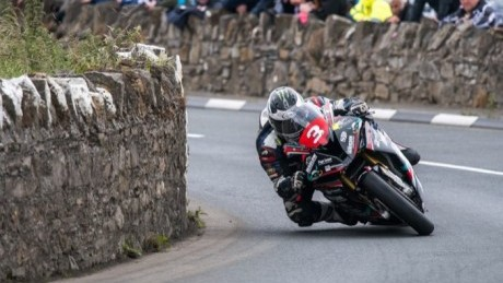 Michael Dunlop in action