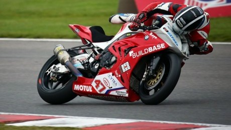 Richard Cooper goes for a ride after asking too much of his Pirelli at Brands hatch