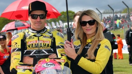 Brookes on the grid with patience-of-a-saint girlfriend Aimie