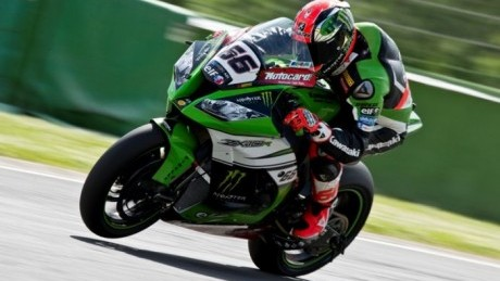 Sykes out-paced Giugliano and Rea in the second timed session