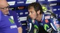 Rossi was seven tenths slower than Marquez in qualifying