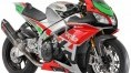 Aprilia's €160,000 race package RSV4. Too expensive for WorldSBK but has wings...
