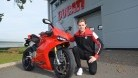 Buchan with a Panigale pictured before nipping of for a cheeky Nandos, innit, geeza...