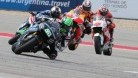 Laverty ran as high as 12th in Austin before a mid-race problem set him back