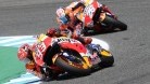 Marquez had to settle for third in Jerez while Pedrosa said he had no grip at all