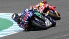Lorenzo still had more game than Marquez, who has to settle for third