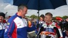 Hardy is well known for encouraging young riders